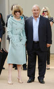 Sir Philip Green and Anna Wintour