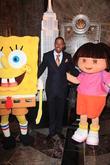 Spongebob Squarepants, Nick Cannon and Dora The Explorer
