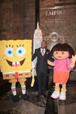 Spongebob Squarepants, Nick Cannon and Dora The Explorer