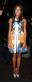 Naomie Harris, UK, London Fashion Week