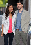 Andrew Lee Potts and Shelley Conn