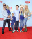 Gena Lee Nolin, Cale Hulse, Spencer Fahlman, Stella Monroe Hulse and Hudson Lee Hulse