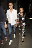 Leigh Anne Pinnock and Jordan Kiffin