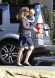 Jennifer Garner and Samuel Affleck