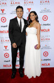 Mario Lopez, Courtney Mazzo, Alma Awards