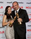 Aimee Garcia and David Zayas