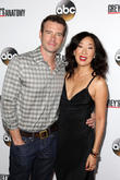 Scott Foley and Sandra Oh