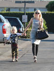 Gwen Stefani and Zuma Rossdale