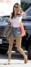Alessandra Ambrosio shopping in Santa Monica