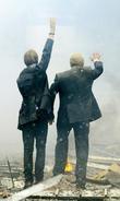 Bernard Hill and Steven Mackintosh