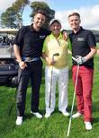 Keith Duffy, Brendan O'carroll and Brian Ormond