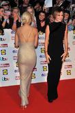 Ashley Roberts and Amanda Holden