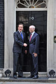 David Cameron and Herman Von Rompuy