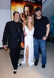 Danny Trejo, Alexa Vega and Robert Rodriguez