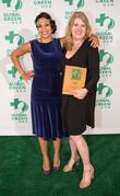 Rosario Dawson and Suzanne Fallender