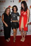 Nicole Gomez Fisher, Ana Ortiz and Courtney Andrialis