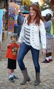 Angie Everhart and Kayden Bobby Everhart