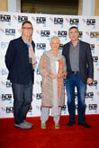 Jeff Pope, Dame Judi Dench and Steve Coogan