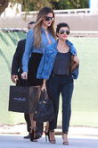 Kourtney Kardashian and Khloe Kardashian
