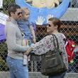 Amy Adams, Darren Legallo and Aviana Legallo