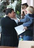 Jennifer Garner and Samuel Garner Affleck