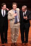 Ethan Mcsweeny, Sebastian Arcelus and John Grisham