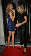 Kimberley Garner and Olivia Cox