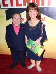 Warwick Davis and Samantha Davis