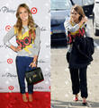Jessica Alba and Phillip Lim French Terry
