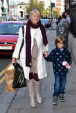 Nicky Byrne and Miriam Ahern With Grandson