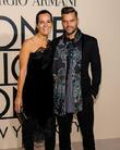 Ricky Martin and Roberta Armani