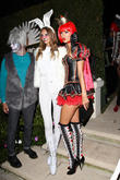 Celebrities at Halloween Party in Beverly Hills