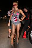 Paris Hilton, Brandon Davis, Beverly Glen, Playboy Mansion
