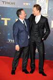 Louis D Esposito and Tom Hiddleston