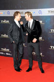 Tom Hiddleston, Chris Hemsworth, Sony Center