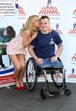 Sarah Harding, War hero Michael
