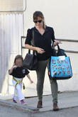 Jennifer Garner and Seraphina Rose Elizabeth