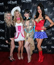 Karissa Pukas, Sheridyn Fisher, Claire Sinclair and Lauren Vickers