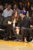 Olivia Wilde, Jason Sudeikis, Staples Center