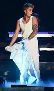 Justin Bieber performs live