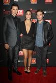 Brett Dalton, Chloe Bennet and Iain De Caestecker