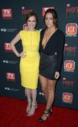 Elizabeth Henstridge and Chloe Bennett