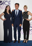 Kat Dennings, Mark Burnett and Beth Behrs