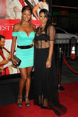 Claudia Jordan and Laura Govan