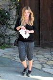 Hilary Duff Leaving Rehearsals