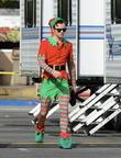 Lea Michele as Santa's Little Helper