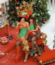 Lea Michele and Naya Rivera
