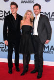 Sam Palladio, Patty Hanson and Charles Esten