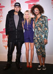 Afrojack, Redfoo and Laura Whitmore