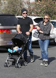 Hilary Duff, Mike Comrie, Luca Comrie, Studio City